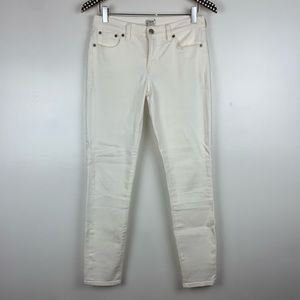 J. Crew Factory Midrise Skinny Jeans 26 P3906